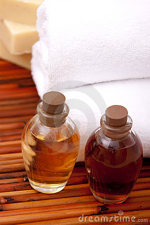 Aromatherapy oils for spa