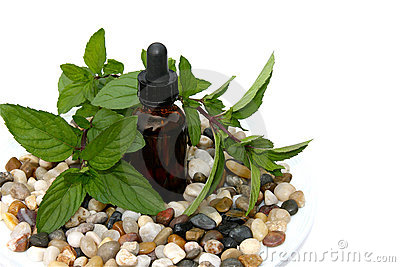 Aromatherapy peppermint
