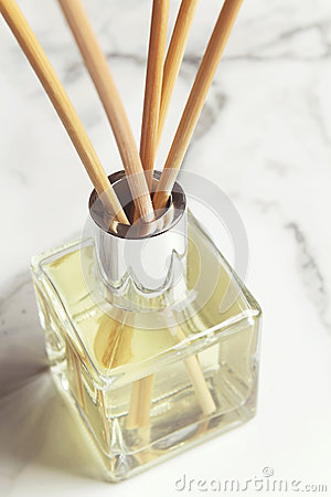 Free Aromatherapy Reed Diffuser Air Freshener Close Up Royalty Free Stock Photography - 42554257