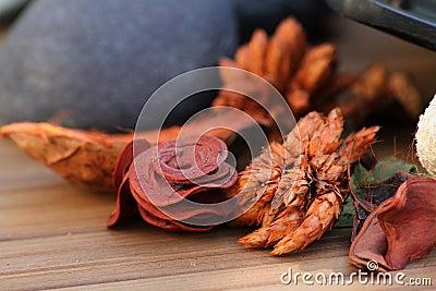 Aromatic dry flowers