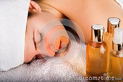 Aromatic Oils Massage