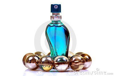 Aromatic perfume bottle