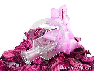 Aromatic pink decoration