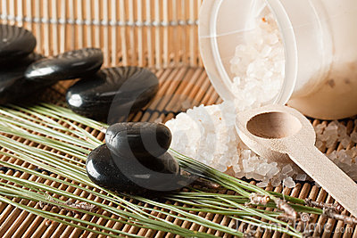 Aromatic salt therapy in spa setting (1)