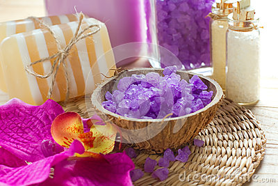 Aromatic spa set
