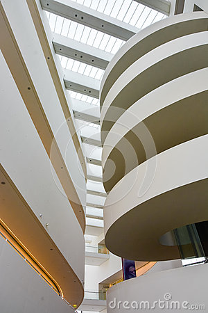 Free ARoS Art Museum, Aarhus, Denmark - Abstract Shapes (2) Royalty Free Stock Image - 49669226