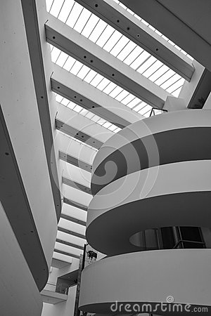 Free ARoS Art Museum, Aarhus, Denmark - Abstract Shapes Royalty Free Stock Photos - 46973588