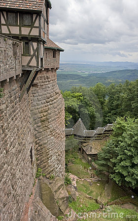 Around Haut-Koenigsbourg Castle in France