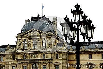 Around Louvre Paris
