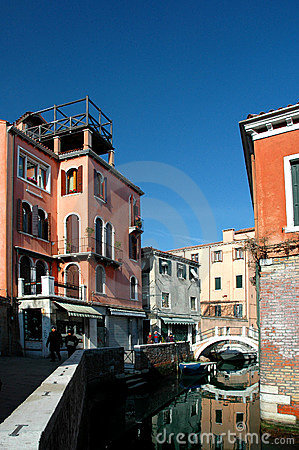 Free Around The Streets Of Venice Royalty Free Stock Images - 120859