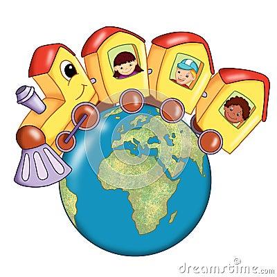 Free Around The World Stock Image - 15141591