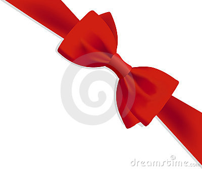Arqueamiento rojo del regalo