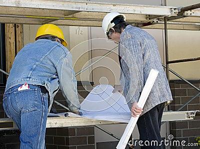 Arquitecto y constructor imagenes de archivo imagen 9680144 for Arquitecto constructor