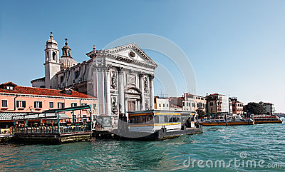 Arquitectura da cidade Venetian Fotografia Editorial