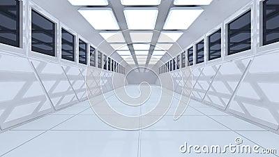 Arquitetura 3d futurista