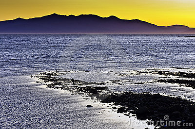 Arran Sunset from Saltcoats