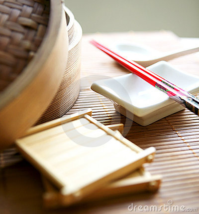 Arrangement Of Eating Utensils Stock Images - Image: 4209274