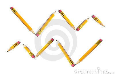 Arrangement of Short Pencils