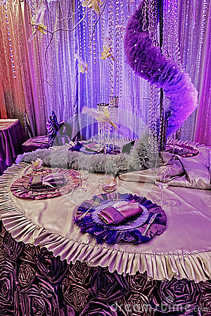 Arrangement for the wedding dinner party-8