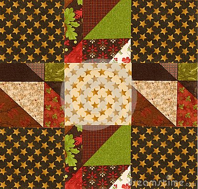 Arranging quilt design on batting