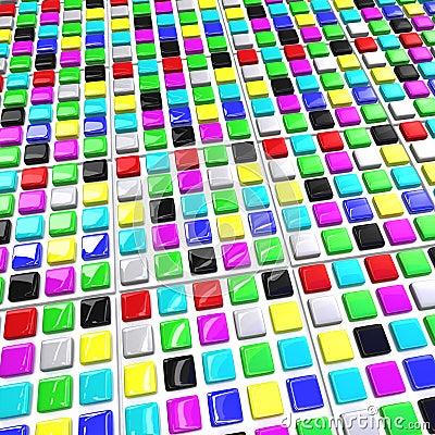Array color blocks
