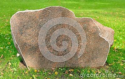 An array of cut stone