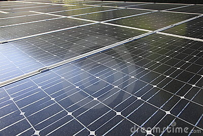 Array of photovoltaic modules