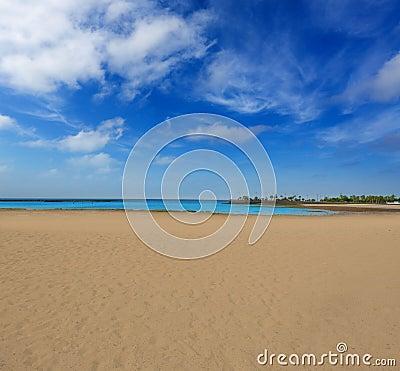 Arrecife beach Lanzarote Playa del Reducto