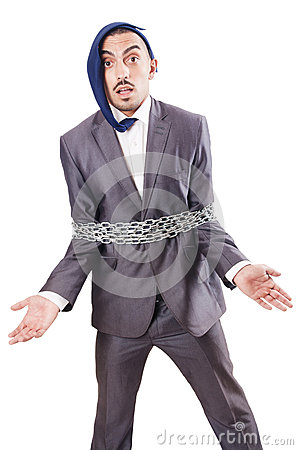 Arrested businessman