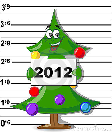 Free Arrested Christmas Tree,vector Stock Photos - 22426523