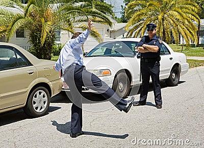 Arresto di traffico - prova di sobrietà