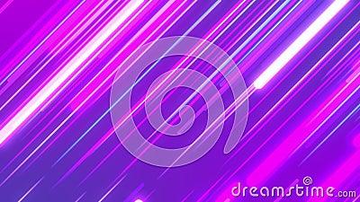 Arrière-plan de boucle abstraite des bandes diagonales brillantes clips vidéos