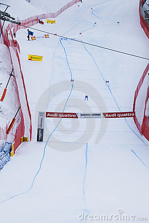 The arrival - Fis World Cup Editorial Photography