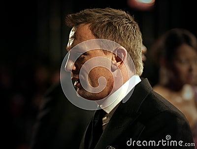 Arrivals At The Orange British Academy Film Awards Editorial Stock Photo