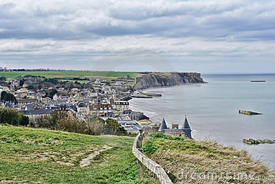 Arromanches-les-Bains in Normandy France