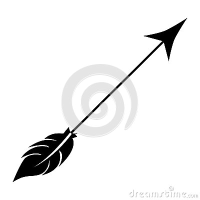 Free Arrow Archery Icon Image Stock Photo - 80790270