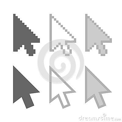 Arrow cursors
