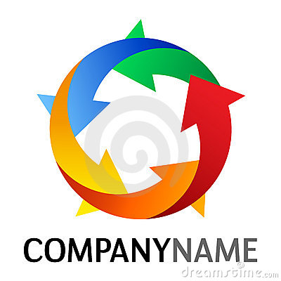 Free Arrow Icon And Logo Design Stock Images - 22291054