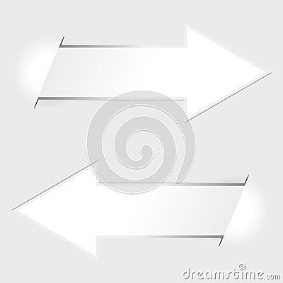 Arrow paper tags