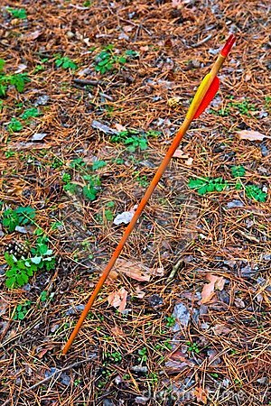 Arrow strike land