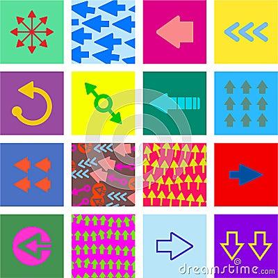 Arrow tiles