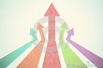 Arrow Up Stock Image - Image: 25105391