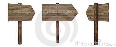Arrow wood board