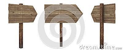 Arrow wood board