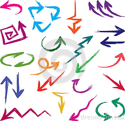 Free Arrows Stock Image - 24898431
