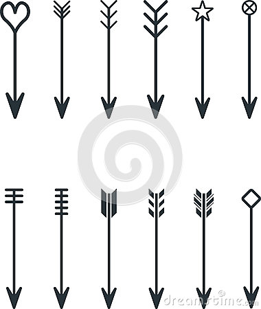 Free Arrows Royalty Free Stock Photography - 65860737