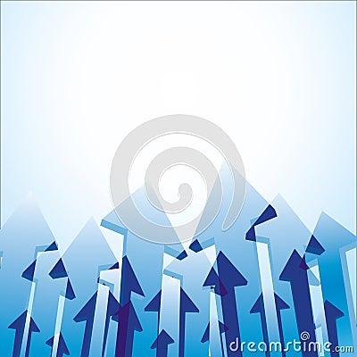 Arrows background