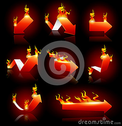 Arrows on Fire