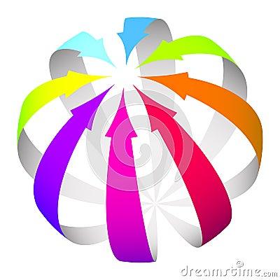 Free Arrows Icon Stock Photo - 26218880