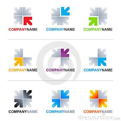 Free Arrows Logo Designs Stock Images - 18888634